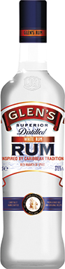 Glen's White Rum 70cl