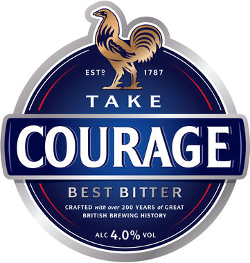 Courage Best Bitter, Cask 9 gal x 1
