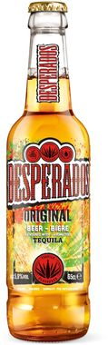 Desperados Tequila Flavoured Beer, NRB 330 ml x 24
