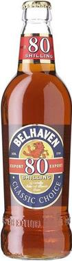 Belhaven Export 80/- , NRB 500 ml x 8