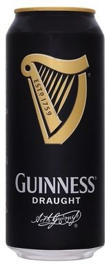 Guinness Draught, can 440 ml x 24