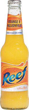 Hoopers Reef Orange & Passion Fruit 275 ml x 24