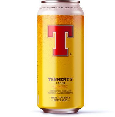 Tennent's Lager, can 500 ml x 24