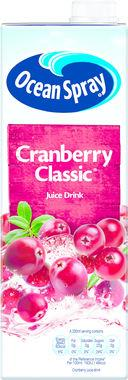Ocean Spray Cranberry Classic 1 lt x 12