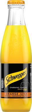 Schweppes Orange Juice, NRB 200 ml x 24