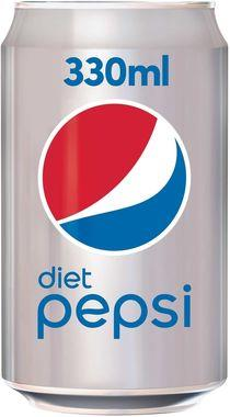 Britvic Diet Pepsi, Can 330 ml x 24