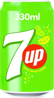 7 Up, can 330 ml x 24