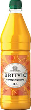 Britvic Orange Cordial, PET 1 lt x 12