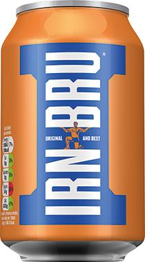 Barrs Irn Bru, Can 330 ml x 24