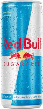 Red Bull Energy Drink, Sugar Free, Can