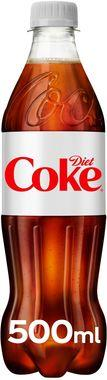 Diet Coke Contour, PET 500 ml x 24