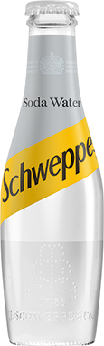 Schweppes Soda Water, NRB 200 ml x 24