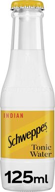Schweppes Tonic Water, NRB 125 ml x 24