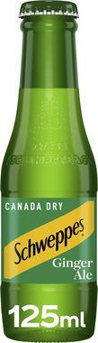 Schweppes Canada Dry Ginger Ale, NRB 125 ml x 24