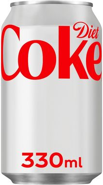 Diet Coke, can 330 ml x 24