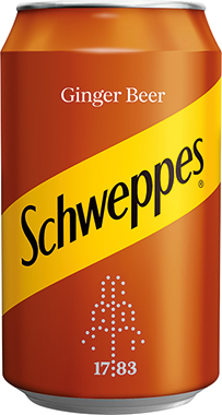 Schweppes Ginger Beer, can 330 ml x 24
