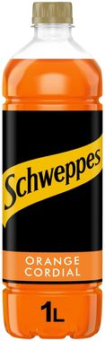 Schweppes Orange Cordial, PET 1 lt x 12