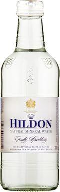 Hildon Gently Sparkling Natural Mineral Water, NRB 330 ml x 24
