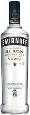 Smirnoff Black Label Export Strength Vodka