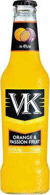 VK Orange & Passionfruit, NRB 275 ml x 24