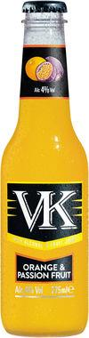 VK Orange & Passionfruit PET 275 ml x 24