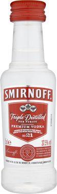 Smirnoff Red Label Vodka Miniatures 5cl