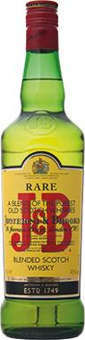 J&B Rare Blended Scotch Whisky 70cl