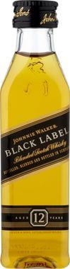 Johnnie Walker Black Label Blended Scotch Whisky 5cl