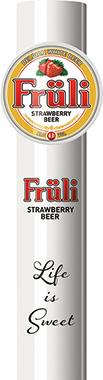 Fruli Strawberry Beer, Keg 30 lt x 1