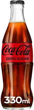 Coke Zero Sugar Icon Glass, NRB 330 ml x 24