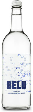 Belu Sparkling Natural Mineral Water, NRB 750 ml x 12