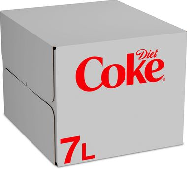 Coke Diet, post-mix