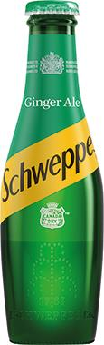 Schweppes Canada Dry Ginger Ale, NRB 200 ml x 24