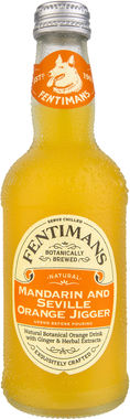 Fentimans Mandarin & Seville Orange Jigger, NRB 275 ml x 12