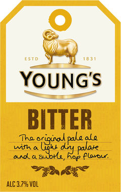 Youngs Bitter, cask 9 gal x 1