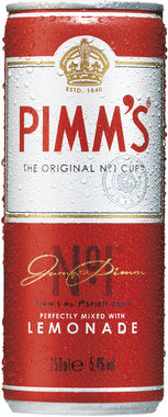 Pimm's No. 1 Cup and Lemonade 250 ml x 12