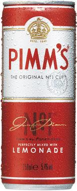 Pimm's No. 1 Cup and Lemonade, Can 250 ml x 12