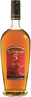El Dorado Demerara 5-Year-Old Rum 70cl