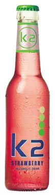 K2 Strawberry, NRB 275 ml x 24