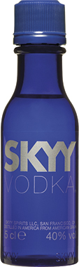 SKYY Vodka mins 5cl