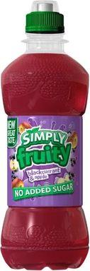 Simply Fruity Blackcurrant & Apple, PET 330 ml x 12