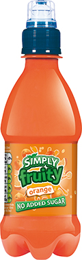 Simply Fruity Orange, PET 330 ml x 12