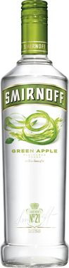 Smirnoff Green Apple Flavoured Vodka 70cl
