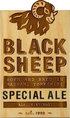 Black Sheep Ale, Cask 9 gal x 1