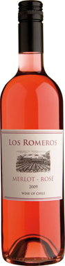 Los Romeros Merlot Rosé, Central Valley