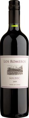 Los Romeros Malbec, Central Valley