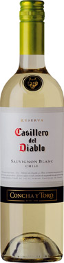 Casillero del Diablo Sauvignon Blanc, Central Valley 75cl