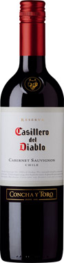Casillero del Diablo Cabernet Sauvignon, Central Valley 75cl