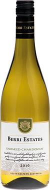 Berri Estates Unoaked Chardonnay, South Eastern Australia