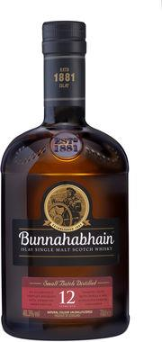 Bunnahabhain 12 Year Old Single Malt 70cl